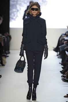 "Lacoste fall 2012 collection has a very chic ""après ski"" vibe"
