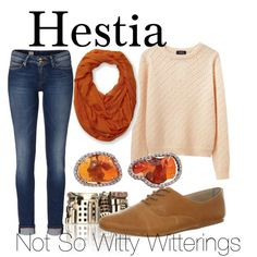 Fictional Fashion: Hestia - Percy Jackson series