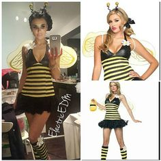 This item is unavailable Black N Yellow, Leg Warmers, Headpiece, Daisy, Halloween Costumes, Bee, My Etsy Shop, Check, Shopping