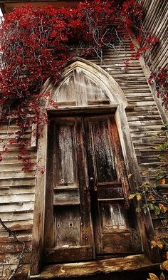 Abandoned Church Door