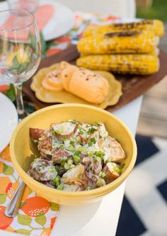 LP Summer Guide 2015- Red Potato & Scallion Salad Recipe