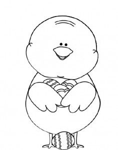 easter chick coloring pages   nápady do MŠ   Pinterest   Easter ...