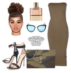 """Unbenannt #337"" by lailabalic ❤ liked on Polyvore featuring Yves Saint Laurent, Gianvito Rossi and Chloé"
