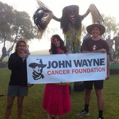 Mahalo! The Aloha Run donated more than $8,100 to the John Wayne Cancer Foundation! A special thanks to everyone who donated, fundraised and volunteered to support #JWCF !