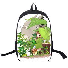Anime My Neighbor Totoro Printing Backpack Children Schoolbags For teenager Daypacks Kids Bag Backpacks Boys Girls School Bags