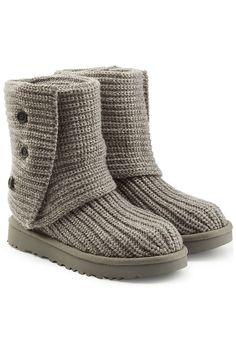 Ribbed Wool Boots   UGG Australia