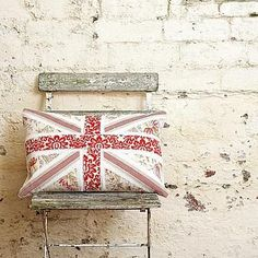 make a vintage jack cushion - I HAVE to make one of these.