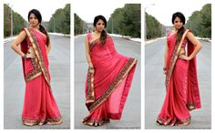 9 ways to drape a sari // Aerogram