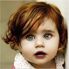 Beautiful and unique little girl. A face that stands out.