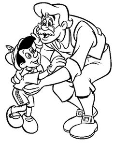 The Pinocchio Coloring Pages Feature Lovable Protagonist From 1940 Disney Classic Of Same Name