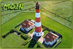 Moin Baseball Field, Coast, Amazing, Lighthouses, Photography, Beautiful, North Sea, Light House, Island