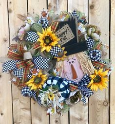 Velvet Cactus Wreaths by Stephanie's Design Studio Fall Scarecrow Wreath, Fall Wreath, Front Porch Fall Decor Thanksgiving Wreaths, Autumn Wreaths, Easter Wreaths, Wreath Fall, Pumpkin Wreath, Pumpkin Crafts, Fall Crafts, Fall Scarecrows, Scarecrow Wreath