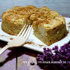 Dani vs Sugar: ♡ Lowcarb Mandel Apfel Kuchen
