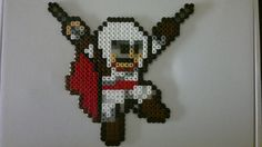 Assassin´s Creed (Mega Man style) perler beads by Björn Börjesson