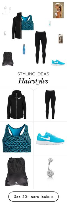 """""""go workout."""" by synclairel on Polyvore featuring Peace of Cloth, Casetify, NIKE, Tasc Performance, adidas Originals, S'well, Beats by Dr. Dre, Bling Jewelry and Chapstick"""
