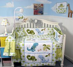 9 Best Baby Bedding Images Dinosaur Crib Bedding Baby