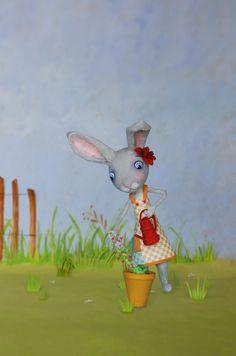 Spring rabbit - Mimi Rondelle 2013