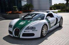 Dubai Police Cars - Polizeiautos Dubai - Bugatti Veyron                                                                                                                                                      Mehr