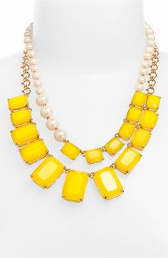 kate spade new york 'treasure chest' double strand necklace // oh kate spade, why must you be so wonderful?