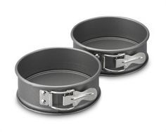 Kaiser LaForme Mini Springform Pans, Set of 4.  I would like two sets of these.  They are $24.00 per set.  They are used to make miniature individual cheesecakes.