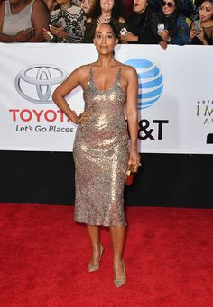 Tracey Ellis, Star Fashion, Fashion Outfits, Sequin Outfit, Tracee Ellis Ross, Combo Dress, Fashion Catalogue, Her Style, Vip