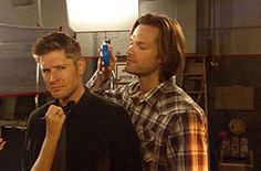 I love Jensen's fake angry face. Me: This is exactly my 11-year-old son's fake angry face.
