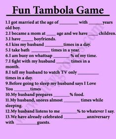 Super Fun Tambola Game For Kitty Party - Kitty party games Ladies Kitty Party Games, Kitty Party Themes, Kitty Games, Cat Party, Ladies Party, Ladies Club, Beach Party Games, Dinner Party Games, Adult Party Games