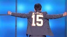 Actor and Kansas City Chiefs fan, Paul Rudd, reveals a custom jacket to announce Chiefs quarterback Patrick Mahomes as the 2018 winner of MVP. Chiefs Football, Football Love, Kansas City Chiefs, Eric Berry, Paul Rudd, Love My Boys, Texas Tech, Packers, Nfl