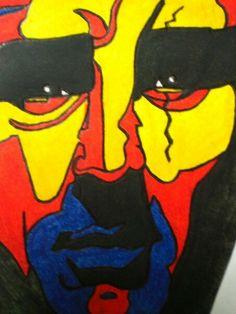 De Niro Graffiti, Snow White, Disney Characters, Fictional Characters, Disney Princess, Abstract, Illustration, Art, Summary