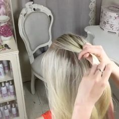 """8,842 Likes, 132 Comments - Beth Belshaw (@sweethearts_hair_design) on Instagram: """"I have done the Four Strand Knot Braid using clips to hold the hair, but it's MUCH easier if…"""""""