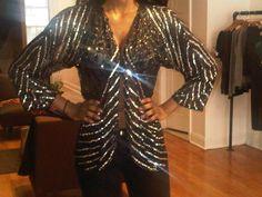 New Vintage Sequin Jacket!!
