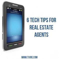 Check Out Our Blog On 6 Tech Tips For Realestate Agents
