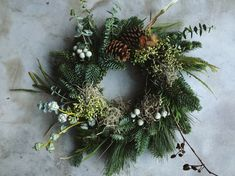 Wreath by Ruby & The Wolf