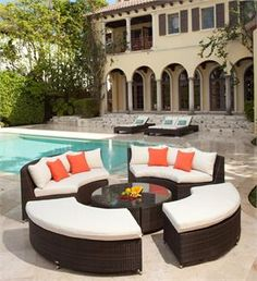 Round Wicker Outdoor Sectional. http://www.furnitureforpatio.com/sourceoutdoor-circa-set.aspx