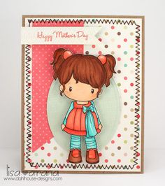 c.c. designs - All That Scraps - card created by design team member lisa arana
