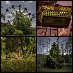"""Seph Lawless on Instagram: """"The Most Haunted Amusement Park in the World: Lake Shawnee Amusement Park in West Virginia.  Originally built atop a sacred Native American…"""" Lake Shawnee Amusement Park, Remember The Time, Scary Places, Most Haunted, Throughout The World, Abandoned Buildings, West Virginia, Tourism, Outdoor Structures"""