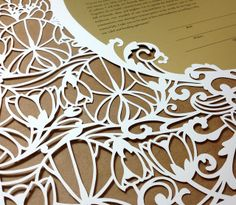 woodland papercuts-water lilies detail7 | Flickr - Photo Sharing!