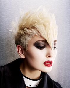 PLATINUM STRAIGHT QUIFF l hairstyle by TH1