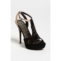 Jessica Simpson 'Bennies' Sandal ($55) ❤ liked on Polyvore
