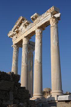 Temple of Athena, Side, Turkey
