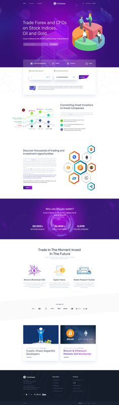Latest Version 1.2 – March 17, 2018 view changelog New Landing Page infographic added Vector File Graph Included Coinbase – – Bitcoin and Cryptocurrency PSD Template Coinbase is the ...