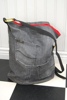 tog / tote bag from old jeans