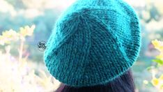 Como tejer una boina facil en dos agujas con un ovillo Crochet Baby, Knit Crochet, Cable Knitting, Knitted Hats, Free Pattern, Diy And Crafts, Quilts, Sewing, Kids