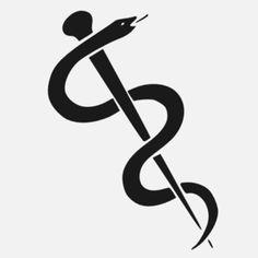 Asclepius Staff clip art