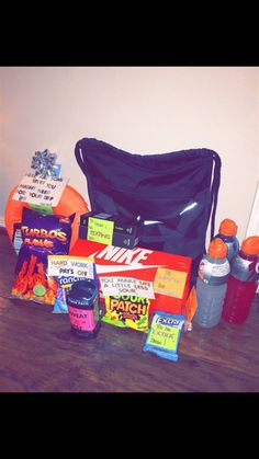 care package for basketball boyfriend More
