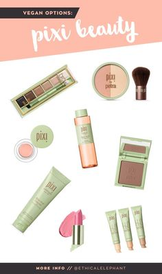 List of Pixi Vegan Products | No animal testing & ingredients [www.ethicalelephant.com]
