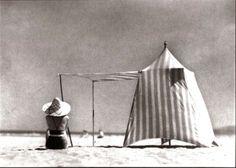 Jean Henri Lartigue, Coco, Hendaye 1934.