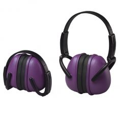 ERB-14243 $6 noise cancelling, collabsible earmuffs