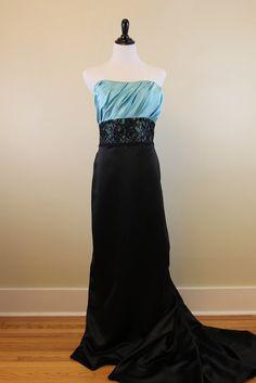 Jordan Couture Bridesmaid Dress (Pool Blue)- Style #1118 — $115.00 - Bride Meets Bride | Wedding and Event Resale