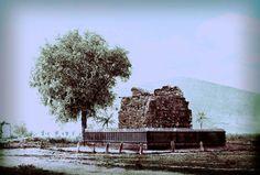 Ćele kula - 1878. godine. Tower of Skulls in 1878